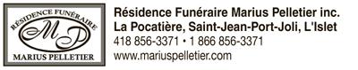 Logo deRésidence Funéraire Marius Pelletier inc.