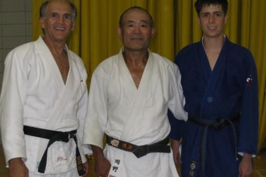 C'est aussi la rentrée pour le club de judo