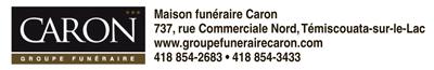 Logo deMaison funéraire Caron – Témiscouata