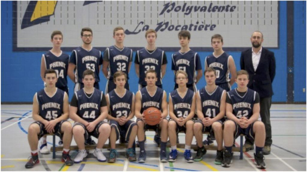 École Polyvalente La Pocatière : le basketball se porte bien
