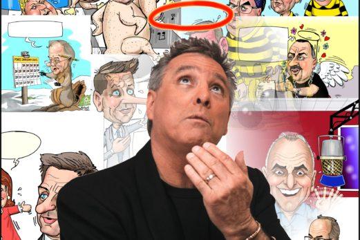 Le caricaturiste Métyvié se joint au Placoteux
