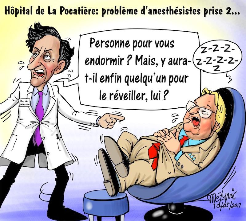Dans la mire de Métyvié… l'hôpital de La Pocatière (prise 2)