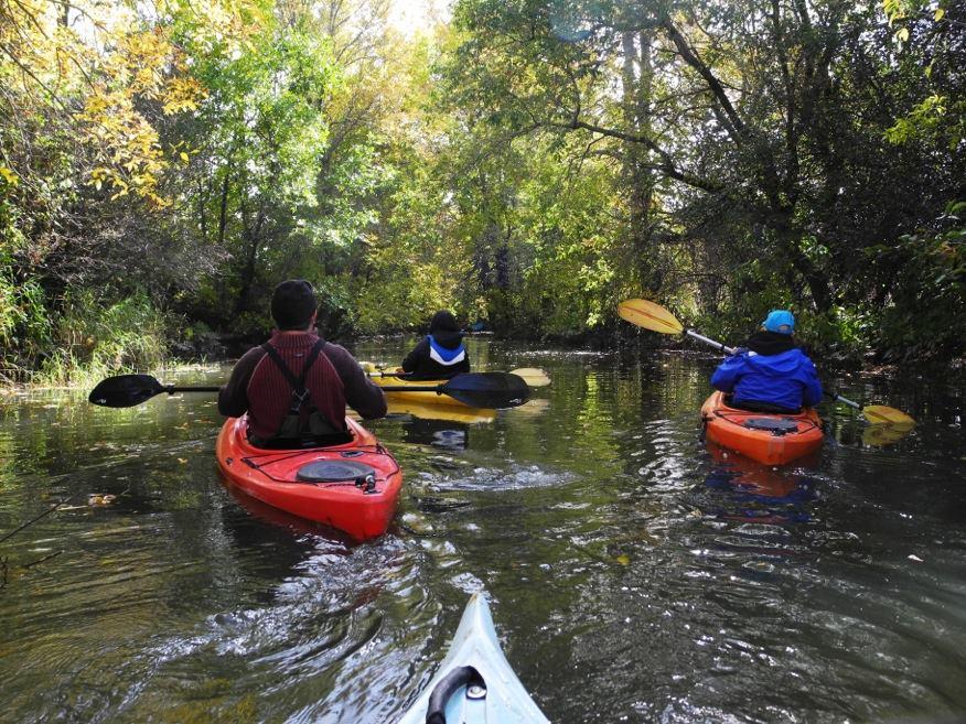 Kamouraska-L'islet : des conditions uniques pour le kayak printanier