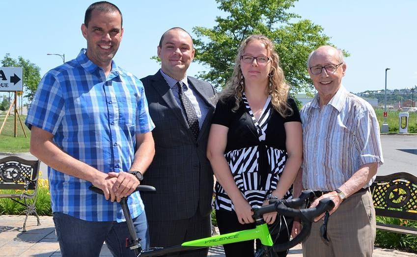 Un premier défi vélo pour la Fondation-Jeunesse de la Côte-Sud