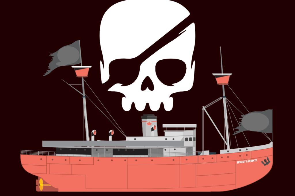 Le bateau fantôme devient hanté de zombies