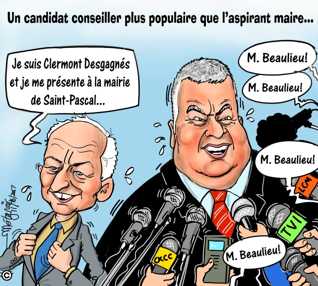 Dans la mire de Métyvié… les élections municipales à Saint-Pascal