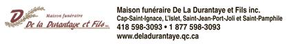Logo deMaison funéraire De La Durantaye
