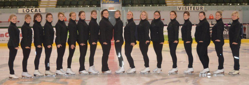 Une nouvelle saison de patinage synchronisée s'amorce