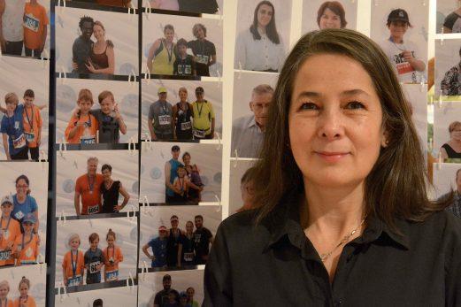 Joyeuse itinérance de Pilar Macias se transporte au Musée du Bas-Saint-Laurent
