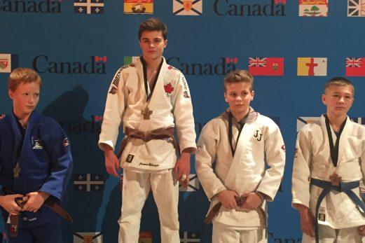 Le judoka Jasmin Bélanger champion canadien