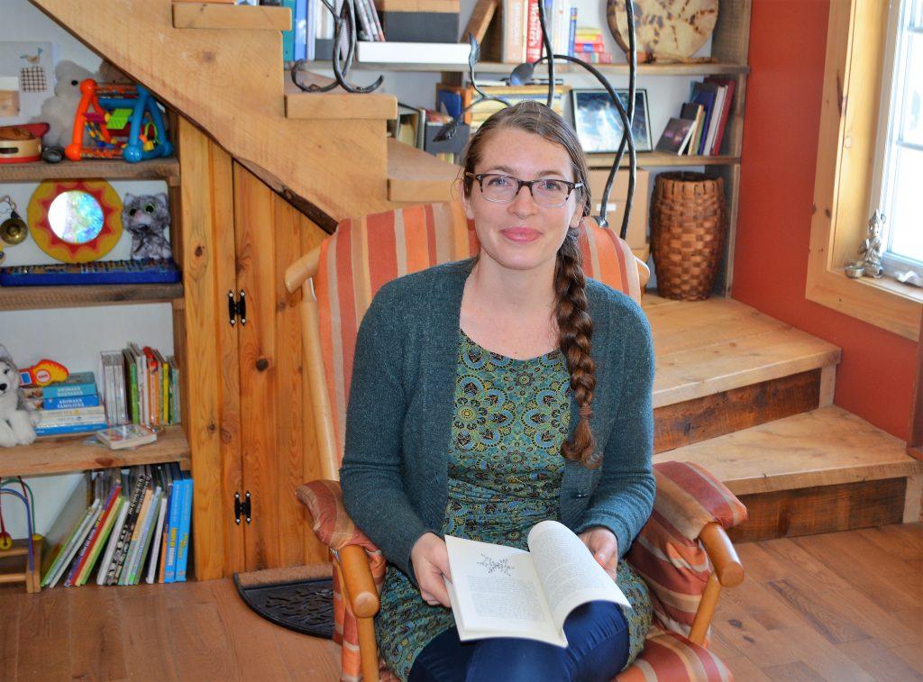 Gabrielle Filteau-Chiba publie son premier livre