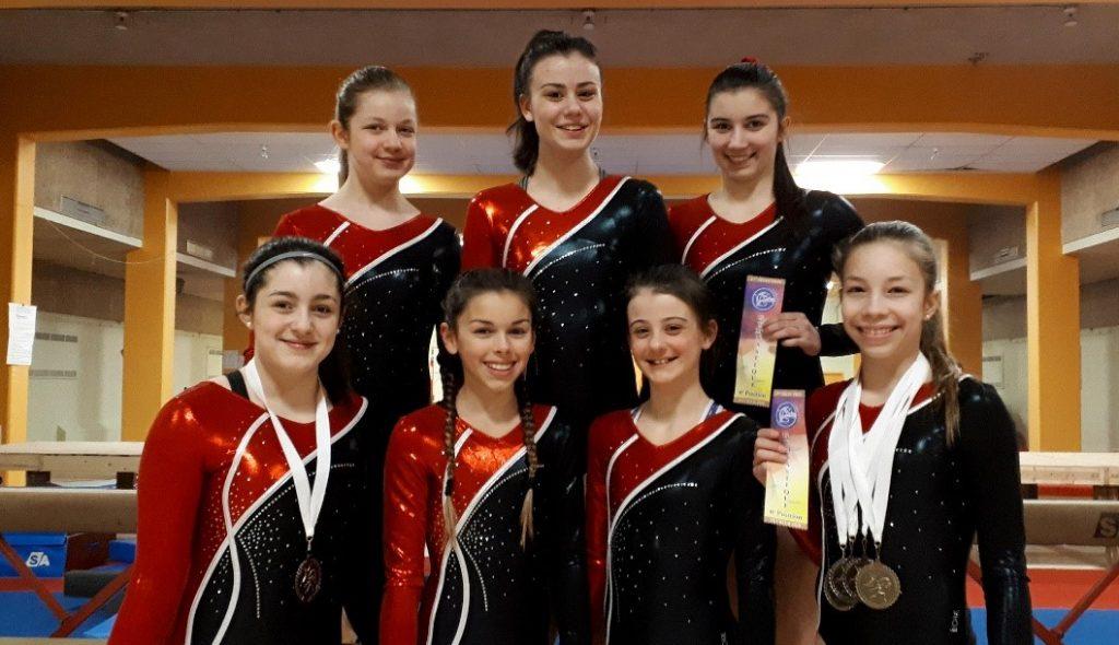 Deux gymnastes classées pour les qualifications provinciales