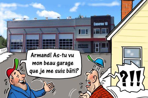 Dans la mire de Métyvié… caserne ou garage?