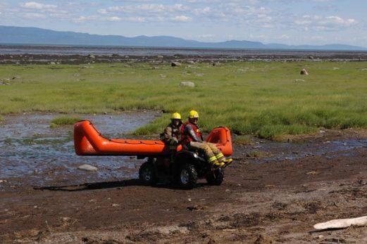 Des nouveaux équipements pour les sauvetages hors-route