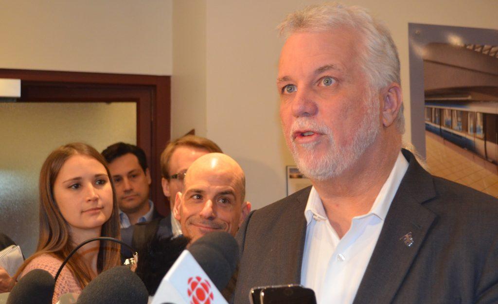 Bombardier: le premier ministre annonce des nouvelles encourageantes aux travailleurs