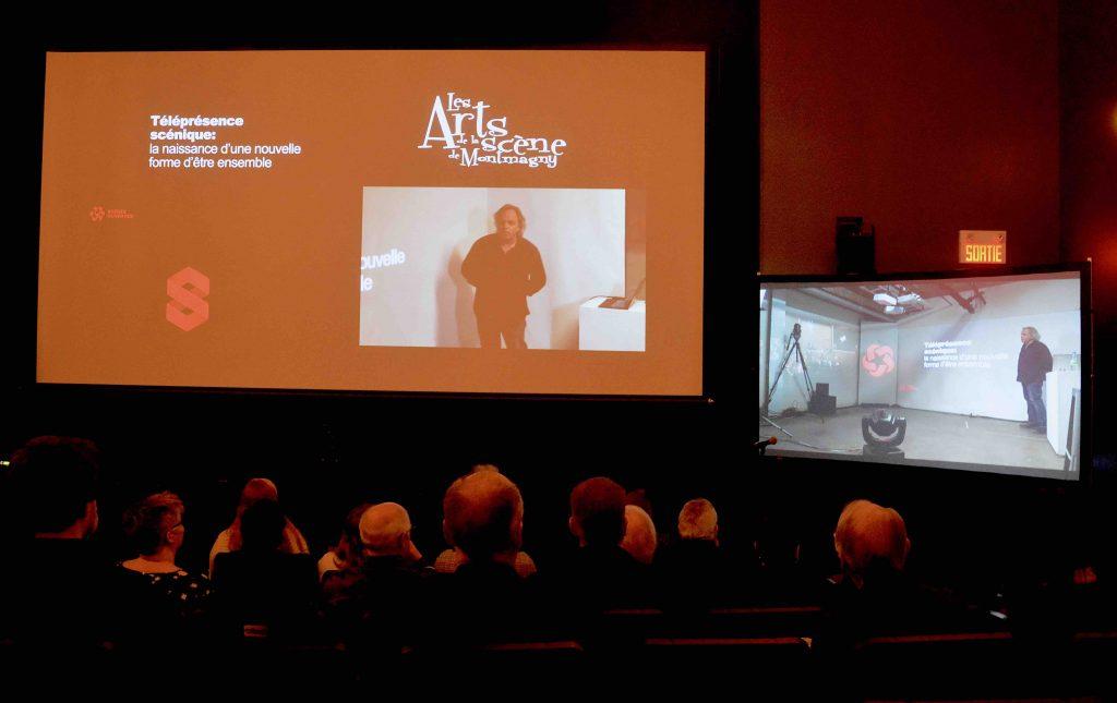 Les Arts de la Scène reliés à 18 autres salles de spectacles au Québec par une technologie unique