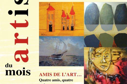 Les amis de l'art exposent à La Pocatière