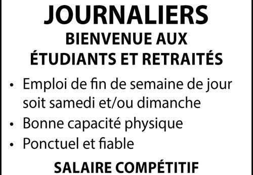 JOURNALIERS