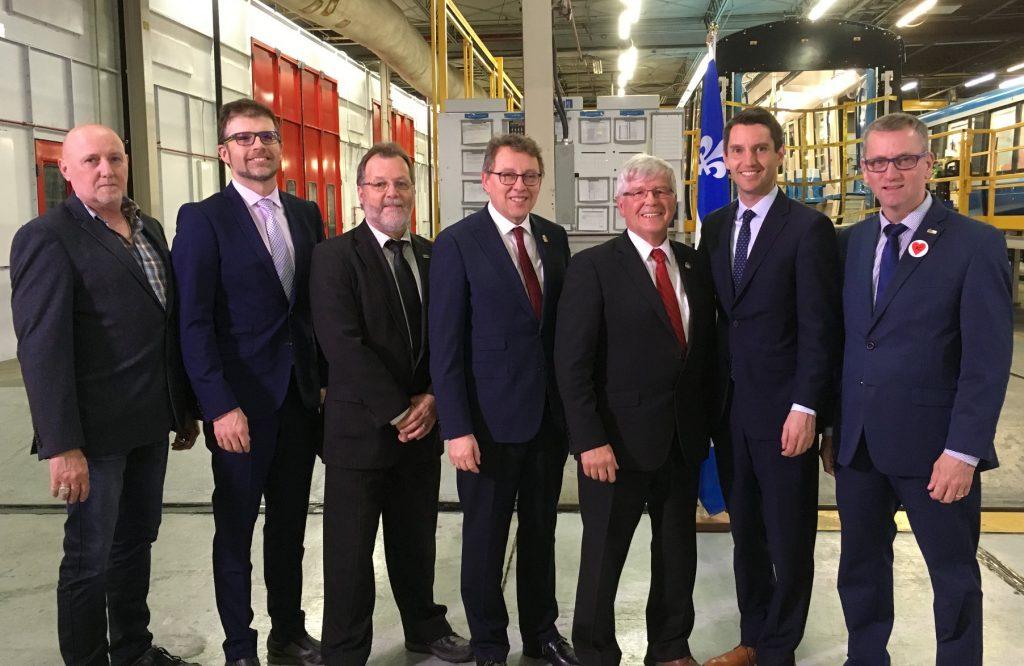 Un pas de plus pour assurer du travail chez Bombardier