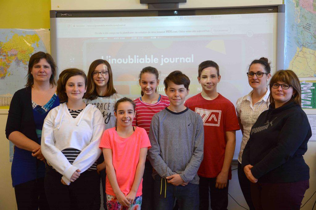 L'Islet : des élèves de Saint-François-Xavier créent un journal étudiant en ligne