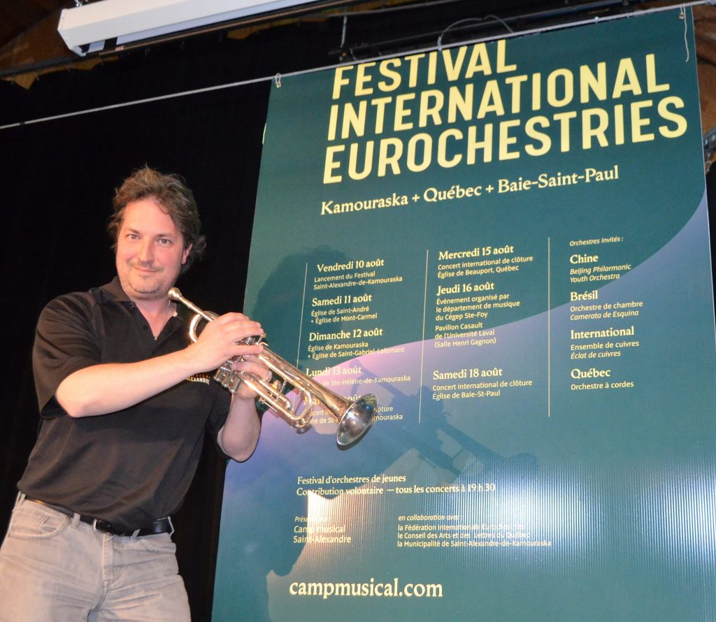 Un nouveau visuel pour la troisième édition du Festival International Eurochestries
