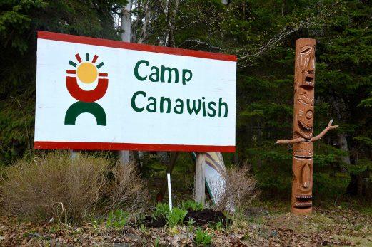 Soutien à l'œuvre du camp Canawish