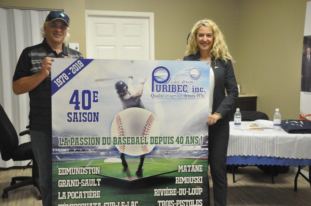 40 ans pour la plus vieille ligue de baseball senior au Québec