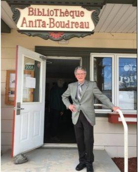 Inauguration de la bibliothèque Anita-Boudreau