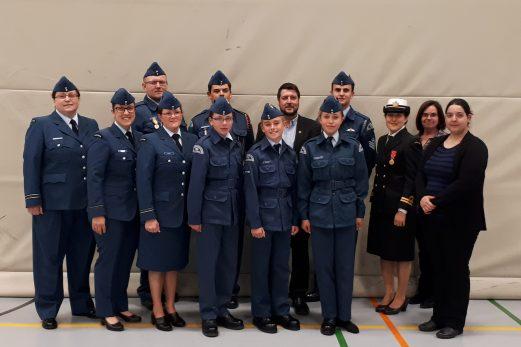 Une 52e revue annuelle réussie pour les cadets de l'air