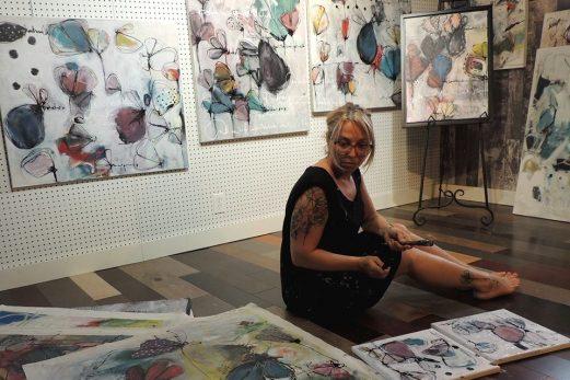 Une artiste connue à l'international expose au Centre Socioculturel Gérard-Ouellet