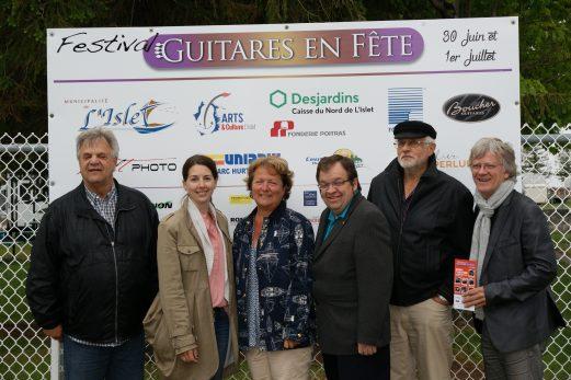 Des guitares toujours en fête à L'Islet