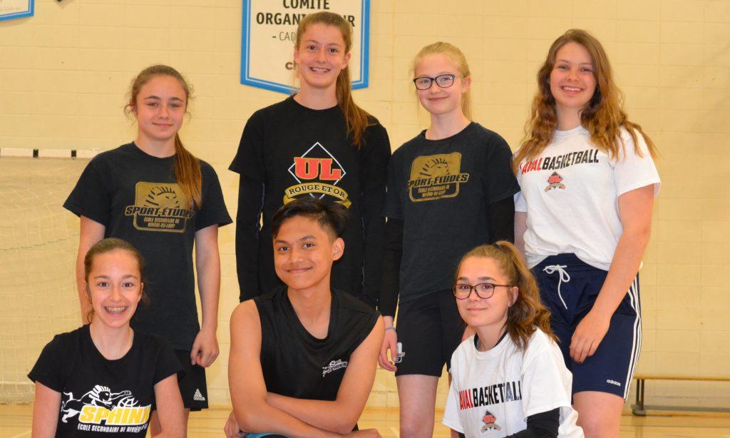 Basketball: 8 jeunes de la région aux Jeux du Québec cet été