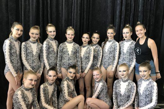 L'École de danse Chantal Caron  toujours performante