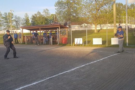 Sainte-Hélène inaugure son terrain de baseball