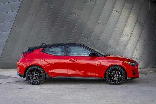 Hyundai Veloster  2019  –   Retour en force