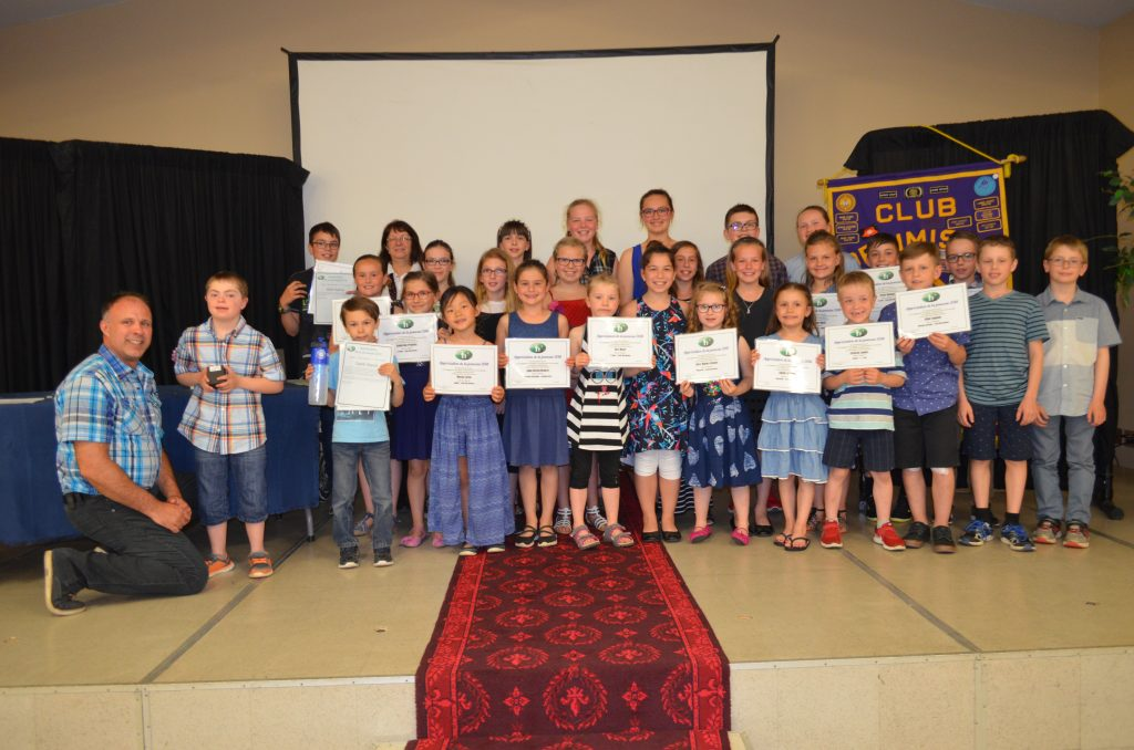 38 jeunes honorés lors de l'Appréciation de la jeunesse