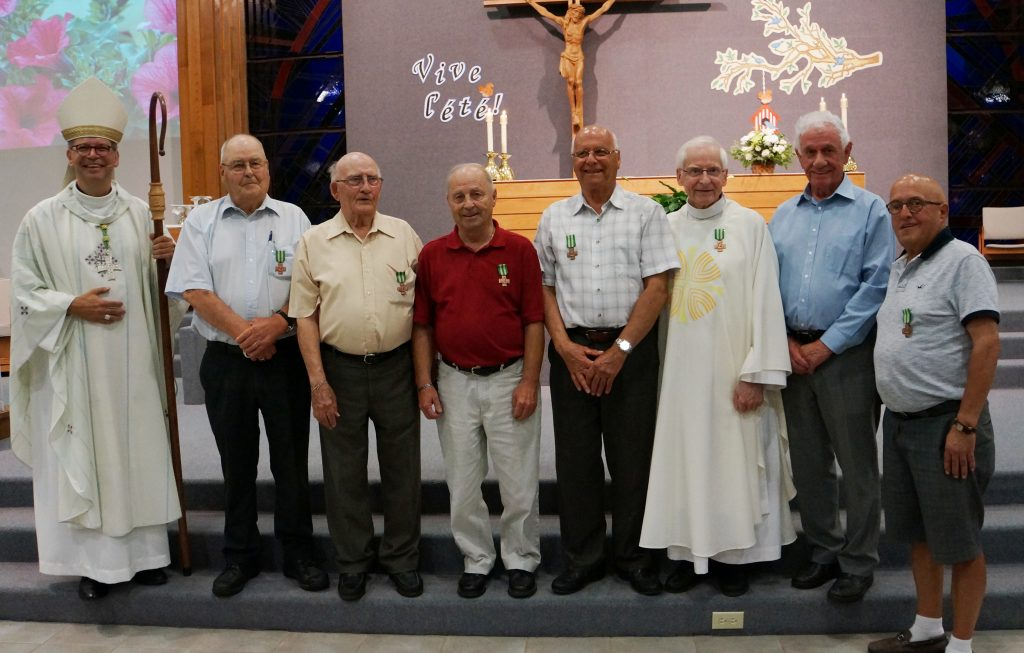Le mérite diocésain remis aux bénévoles du Sanctuaire Notre-Dame de Fatima