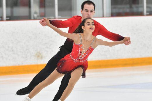 Pier-Alexandre Hudon et sa partenaire médaillés de bronze à Ottawa