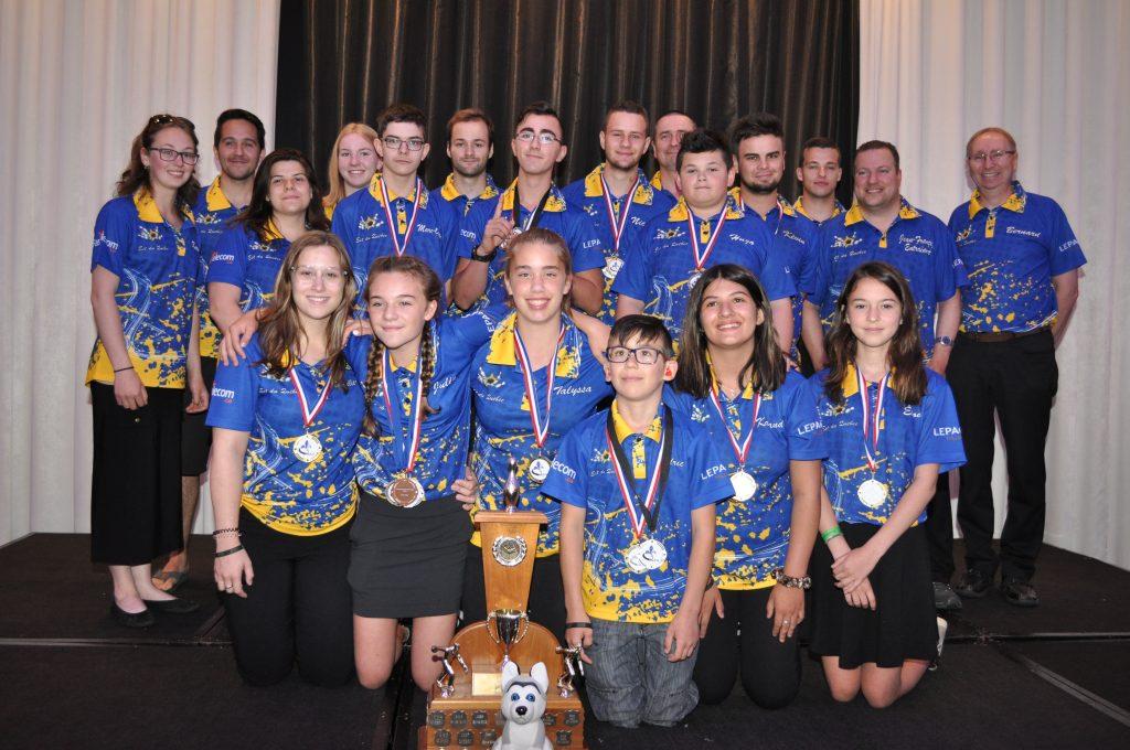 L'Est-du-Québec remporte le Championnat provincial junior de quilles