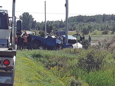 Deux blessés dans une collision à Sainte-Anne-de-la-Pocatière