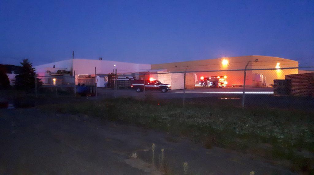 Une deuxième pratique des services incendie du Kamouraska
