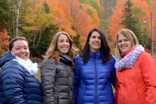 Quatre mamans s'unissent pour relancer la glissade à Saint-Pacôme