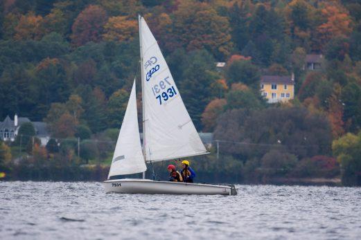 Le vent dans les voiles pour des cadets de L'Islet
