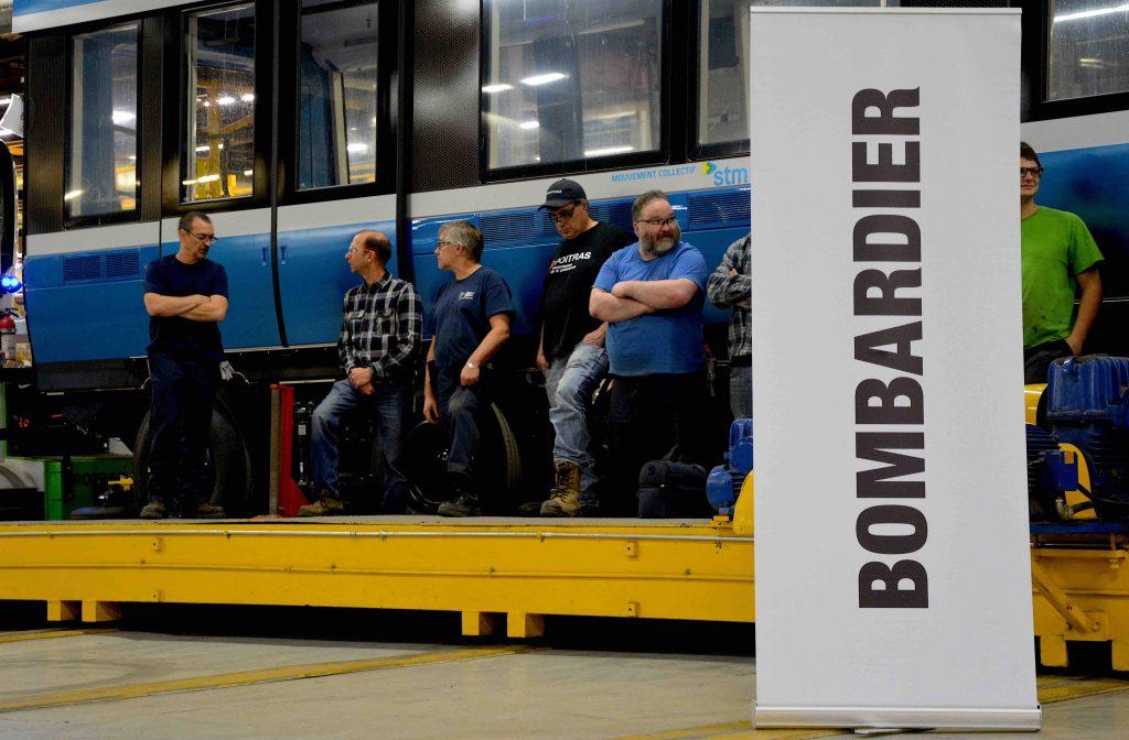 Bombardier : 170 employés travailleront au prolongement des voitures Azur