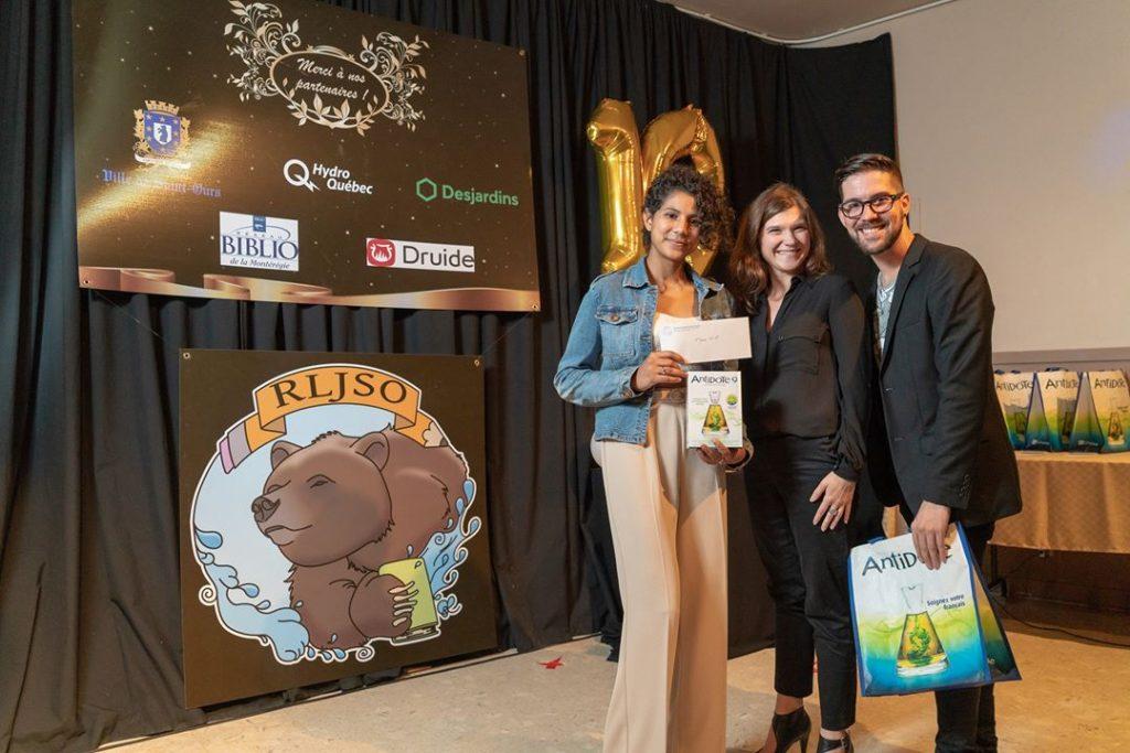 Une jeune écrivaine de Saint-Pacôme lauréate à un concours littéraire jeunesse