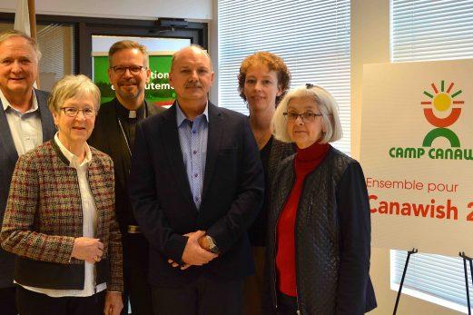 Une campagne de financement pour appuyer la relance du Camp Canawish