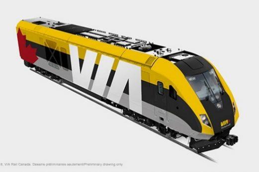 Le contrat de VIA Rail confirmé à Siemens