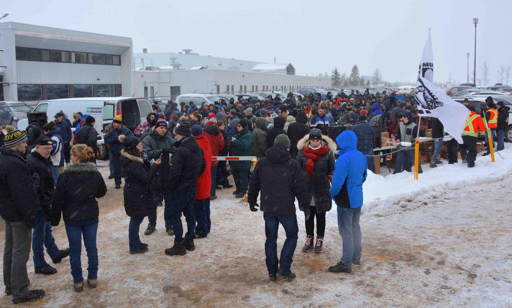 Les travailleurs de Bombardier veulent se faire entendre du fédéral
