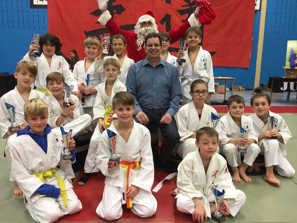 14 Coupes Dynaco en judo
