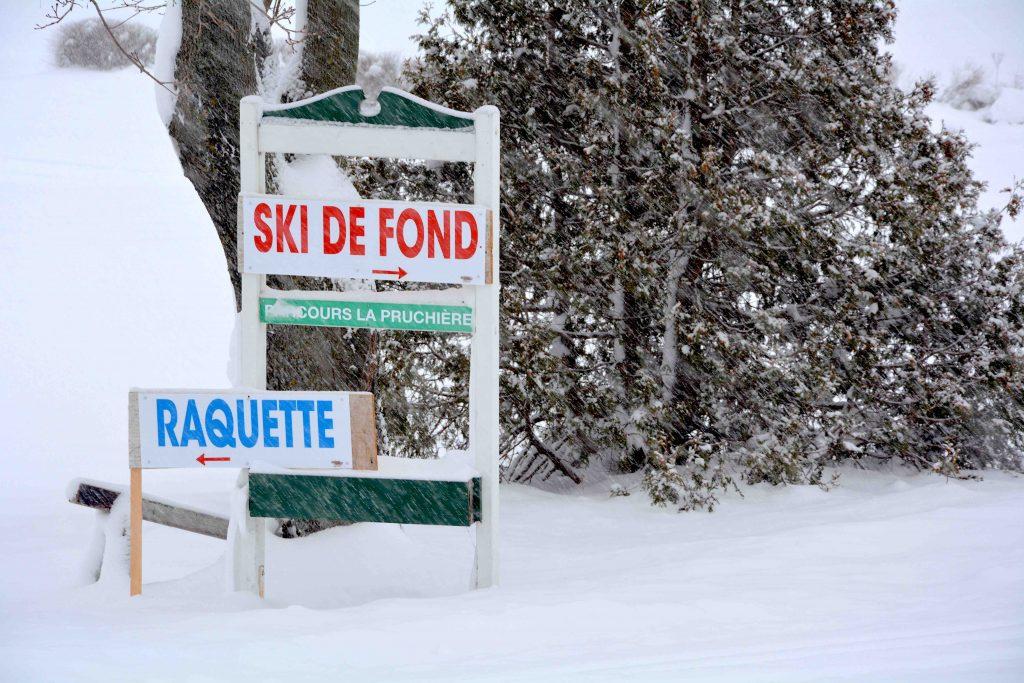 Le Club de golf Saint-Pacôme renoue avec le ski pour un 2e hiver